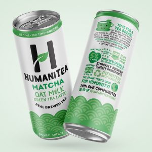 HumaniTea Matcha Oat Milk Green Tea Latte