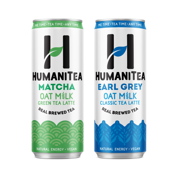 HumaniTea Oat Milk Tea Lattes
