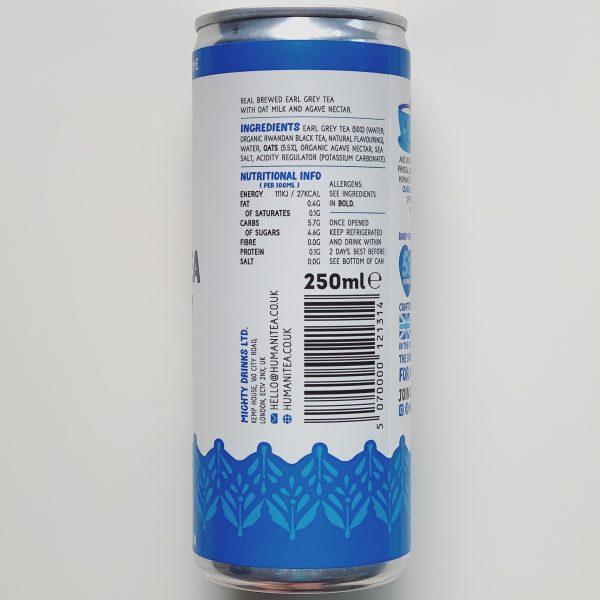 Earl Grey Nutritional Info