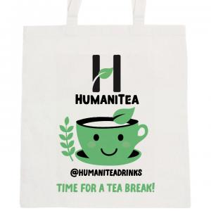 HumaniTea Tote Bag Green