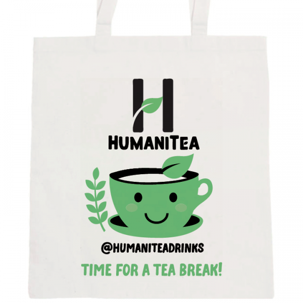 HumaniTea Tote Bag Green